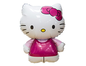 Шар на палочке Hello Kitty